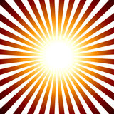 Retro słońce Zdjęcia Royalty Free