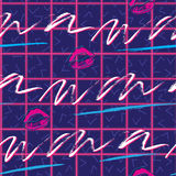 Retro 1980s Pattern Stock Images
