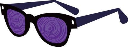 Retro 50s Style Sunglasses Stock Images
