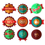 Retro Sale Badges Royalty Free Stock Photography