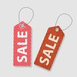 Retro Sale Labels Set . Vector Illustration Royalty Free Stock Photos
