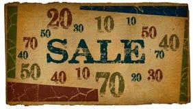 Retro Sale Stock Photography