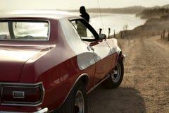 Retro samochód Obrazy Royalty Free