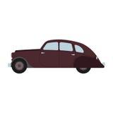 Retro samochodowa Wektorowa ilustracja Obraz Royalty Free