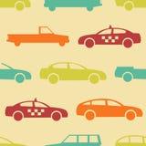 Retro samochodowy bezszwowy wzór Zdjęcia Stock