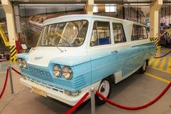 Retro samochodowy eksponat dziejowy muzeum, Rosja, Ekaterinburg, 04 03 2017 rok Obrazy Stock