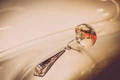 Retro samochodowy lustro Obraz Stock