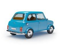 Retro samochodowy mini Fotografia Stock