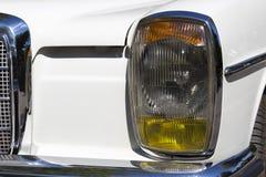 Retro samochodowy parady headlamp obraz stock