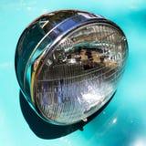 Retro samochodowy parady headlamp fotografia royalty free