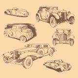 Retro samochody Obrazy Royalty Free