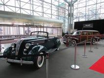 Retro samochody 2015 Nowy Jork Międzynarodowy Auto przedstawienie Obraz Royalty Free