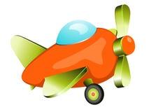 Retro samolot zabawka Obraz Royalty Free