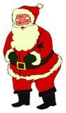 Retro Santa Stock Image