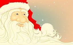 Retro Santa Claus Fotografia Stock