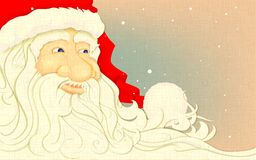 Retro Santa Claus Stock Photography