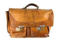 Retro Satchel. Old and brown Retro Satchel stock images