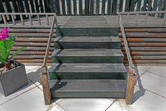 Retro scale di legno fotografia stock libera da diritti