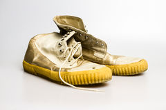 Retro scarpe Fotografia Stock