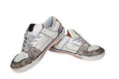 Retro scarpe da tennis Fotografia Stock Libera da Diritti