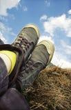 Retro scarpe da tennis designate Fotografia Stock Libera da Diritti