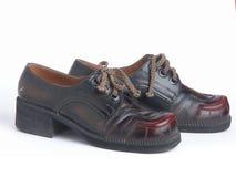 Retro schoenen Royalty-vrije Stock Afbeelding