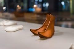 Retro schoenen Royalty-vrije Stock Foto's