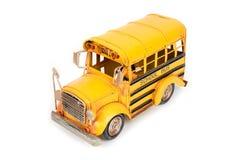 Retro school bus. stock photography
