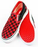 Retro- Schuhe Stockfotografie