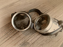 Retro- Schutzbrillen der Weinlese Lizenzfreie Stockfotos