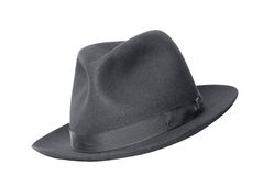 Retro- schwarzer Hut Lizenzfreies Stockfoto