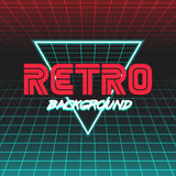 Retro sci fi background7 Royalty Free Stock Photography