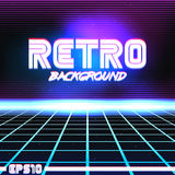 Retro sci fi background9 Royalty Free Stock Photography