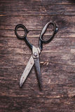 The Retro scissors Royalty Free Stock Images
