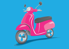 Retro scooter Royalty Free Stock Photos