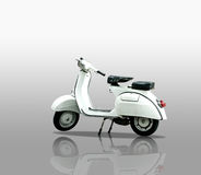 Retro scooter Royalty Free Stock Photo