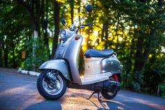 Retro scooter Royalty Free Stock Photos