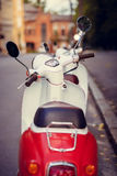 Retro scooter Stock Image