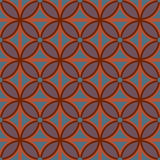 Retro seamless abstract geometric pattern Stock Image