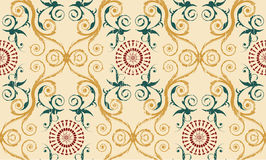 Retro seamless background Royalty Free Stock Image