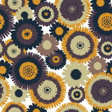 Retro Seamless Background Royalty Free Stock Images