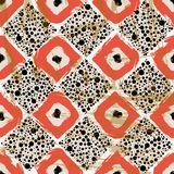 Retro seamless background pattern Royalty Free Stock Image