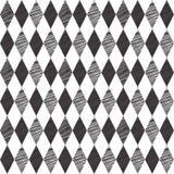 Retro seamless bakgrund för Rhombus vektor illustrationer