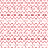 Retro Seamless Christmas Pattern. Vector Stock Images