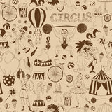 Retro seamless circus background pattern Royalty Free Stock Photo