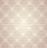 Retro seamless damask pattern Royalty Free Stock Photos