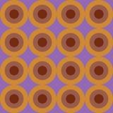 retro seamless för cirkelmodell Arkivfoto