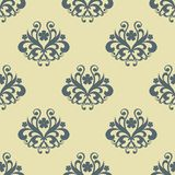 Retro seamless floral pattern Royalty Free Stock Photography