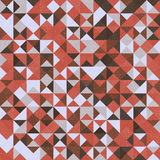 Retro seamless geometric pattern Royalty Free Stock Photography