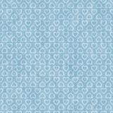 Retro Seamless Heart Polka Dot Pattern Stock Image
